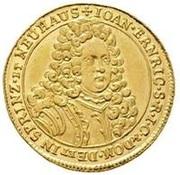 1 Ducat - Johann Ehrenreich – avers