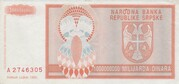 1 000 000 000 Dinara – revers