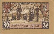 30 Heller (St. Johann in Tirol) -  revers