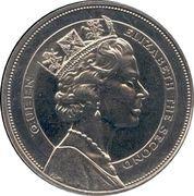 10 Dollars - Elizabeth II (Visite royale) – revers