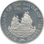 20 dollars - Elizabeth II (Bataille des Saintes) – revers