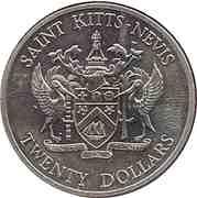 20 dollars - Elizabeth II (Bataille des Saintes) – avers
