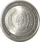 2 Dollars - Elizabeth II (Brown Pelican) – avers