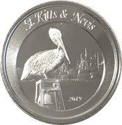2 Dollars - Elizabeth II (Brown Pelican) – revers