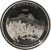 2 dollars - Elizabeth II (Siège de Brimstone Hill) – revers