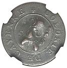 2-1/4 pence – revers