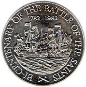 10 dollars (Bicentenaire de la bataille des Saintes) – revers