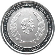2 Dollars - Elizabeth II – avers