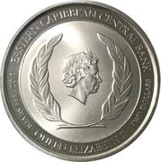 2 dollars - Elizabeth II (Flamants roses) – avers