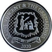 2 dollars - Elizabeth II (Pax et Justitia) – revers