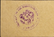 10 Pfennig Stammbach – revers