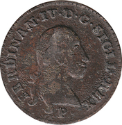2 Quattrini - Ferdinand IV – avers