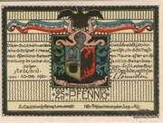 25 Pfennig (Stedesand) – avers