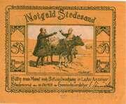 50 Pfennig (Stedesand) – avers