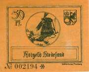 50 Pfennig (Stedesand) – revers