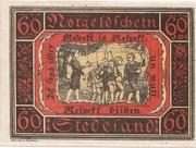 60 Pfennig (Stedesand) – revers