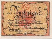 60 Pfennig (Stedesand) – avers
