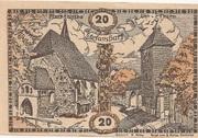 20 Heller (Stefanshart) – avers