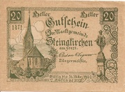 20 Heller (Steinakirchen) -  avers