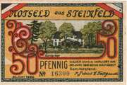 50 Pfennig (Steinfeld) – avers