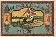 50 Pfennig (Schleswig) – revers