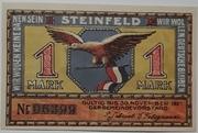 1 Mark (steinfeld) – avers