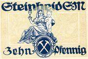 10 Pfennig (Steinheid) – revers