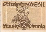 50 Pfennig (Steinheid) – revers