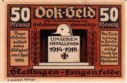 50 Pfennig (Stellingen-Langenfelde) – avers
