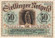 50 Pfennig (Stellingen) – avers