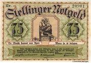 75 Pfennig (Stellingen) – avers