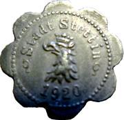 5 pfennig - Stettin – avers
