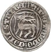 ½ Groschen - Heinrich XIX., Heinr. XX. and Botho III. – avers