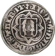 ½ Groschen - Heinrich XIX., Heinr. XX. and Botho III. – revers