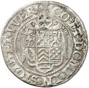 ¼ thaler Ludwig II., Heinrich XXI., Albrecht Georg, Christoph I. et Wolf Ernst – revers