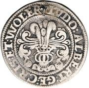¼ thaler Ludw. II., Albrecht Georg, Christoph I. et Wolf Ernst – avers