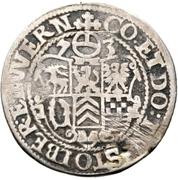 ¼ thaler Ludw. II., Albrecht Georg, Christoph I. et Wolf Ernst – revers