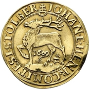 1 goldgulden Johann et Heinrich XXII. – avers