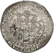 1 thaler Ludwig II, Heinrich XXI, Albrecht Georg et Christof I – avers