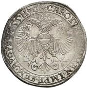 1 thaler Ludwig II, Heinrich XXI, Albrecht Georg et Christof I – revers