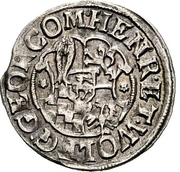 1 groschen Heinrich XXII et Wolfgang Georg -  avers