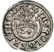 1 groschen Heinrich XXII et Wolfgang Georg -  revers