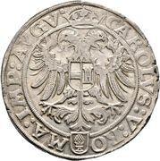 1 thaler Ludwig II. – revers