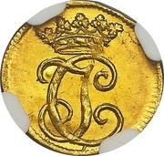 ⅛ Ducat - Justus Christian I. – avers