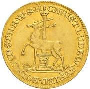 ½ ducat Christoff Ludwig II et Friedrich Botho – avers