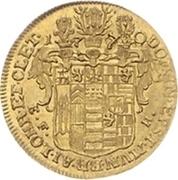 ½ ducat Karl Ludwig et Heinrich Christian Friedrich – revers