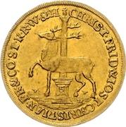 1 ducat Christof Friedrich et Jost Christian – avers