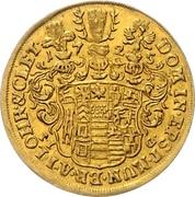1 ducat Christof Friedrich et Jost Christian – revers