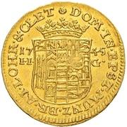 ½ ducat Christoff Ludwig II et Friedrich Botho – revers
