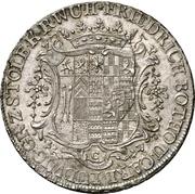 1 thaler Friedrich Botho et Karl Ludwig – avers
